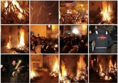 Falò fuoco Orsara fucacoste 2015