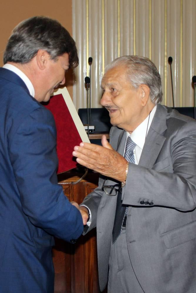 Cittadinanza a Di Cicco (ph enzo maizzi)