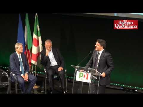 Decennale Pd, Renzi: