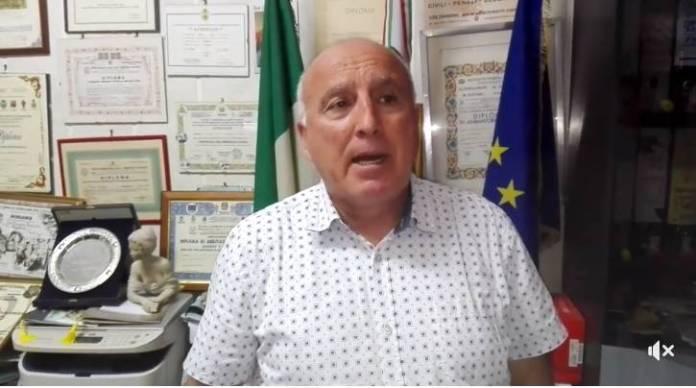 IL PRESIDENTE DELL'ENTE CIVILIS GIUSEPPE MARASCO (FRAME VIDEO)