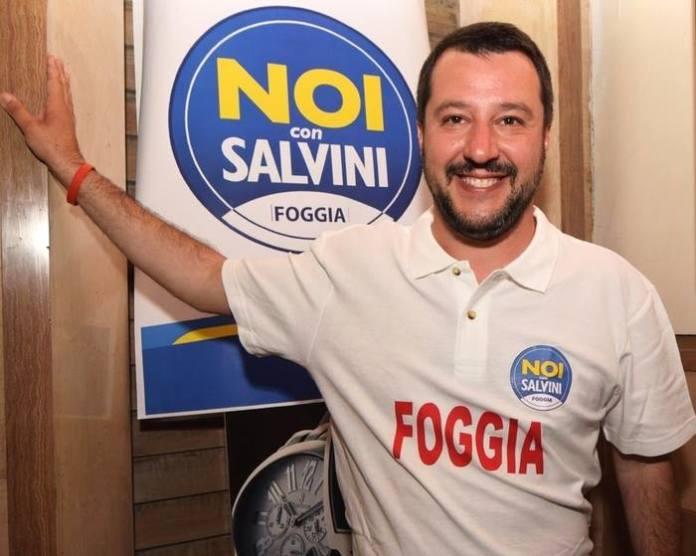 MATTEO SALVINI, IMMAGINE DA FACEBOOK