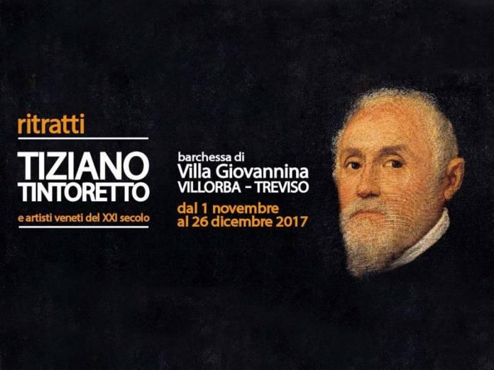Ritratti Tiziano Tintoretto e artisti veneti del XXI secolo