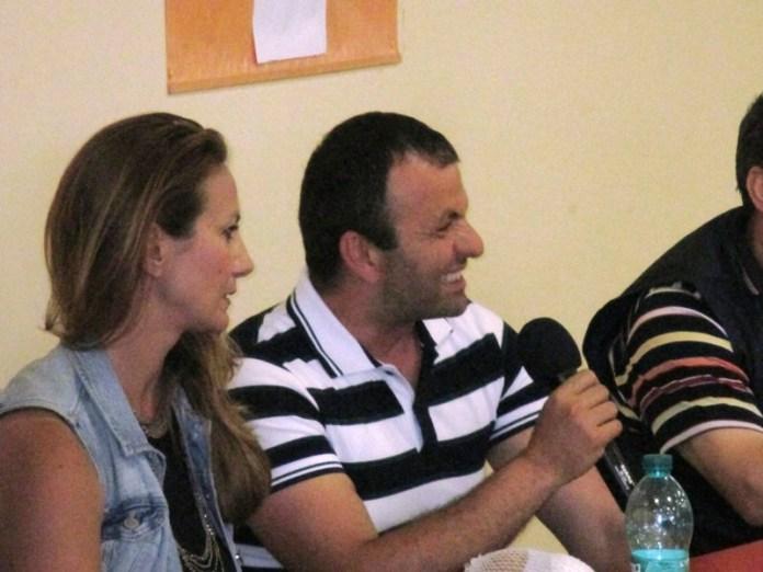 AL CENTRO MASSIMO CIUFFREDA, RSU SANGALLI VETRO MANFREDONIA (photo credit, archivio @2015 StatoQuotidiano)
