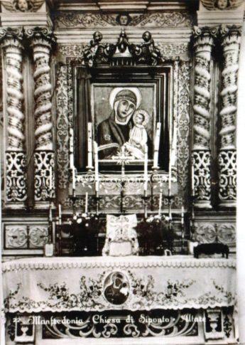 Chiesa di Siponto-La Sacra Icona della Madonna di Siponto