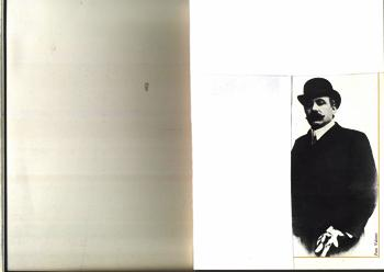 """Vincenzo Capparelli sindaco di Manfredonia dal 1901 al 1913. Possidente, versato nella pittura e nella musica; vantava amicizie nel mondo artistico e culturale di Napoli. Per anni il suo """"acerrimo"""" rivale nella diatribe politiche locali fu il dott. Giu- seppe Grassi. (Ph: F. Rinaldi)"""