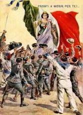 Manifesto di propaganda prima guerra mondiale