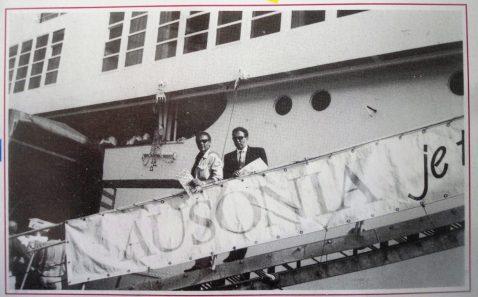 Raffaele Prota e Antonio Di Iasio - vincitori crociera Lotteria Zepèppe 1993