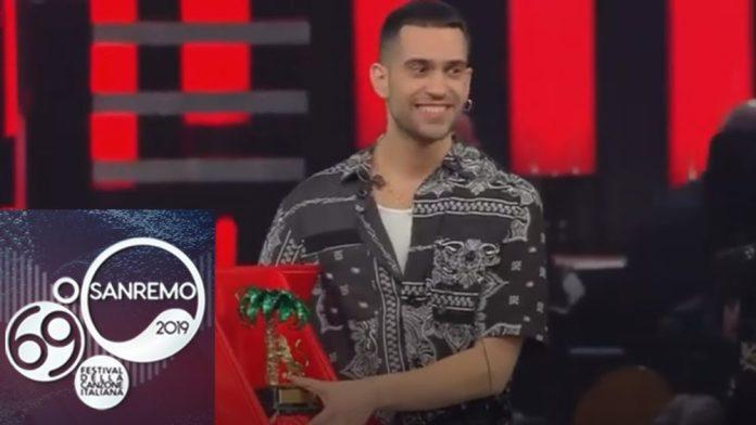 Sanremo 2019 - Mahmood vince la 69esima edizione del Festival