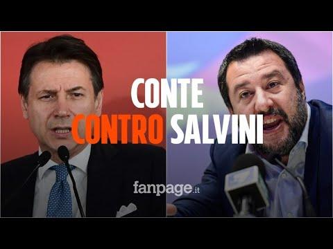 """Conte contro Salvini: """"Non siamo i tuoi passacarte"""