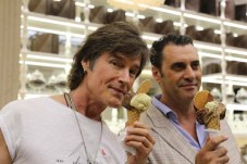 Bruneleski e Bramanthe Manfredonia, 130 gusti di gelato per Ronn Moss