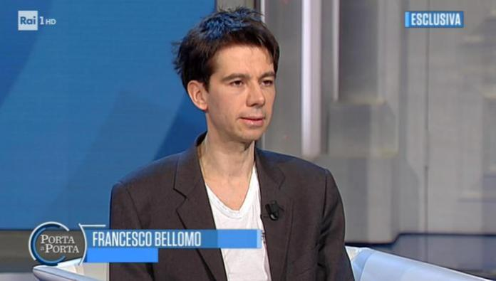 Intervista all'ex Consigliere di Stato Francesco Bellomo a Porta a Porta, Roma, 23 gennaio 2018. ANSA/RAITV.IT ++ NO SALES, EDITORIAL USE ONLY ++