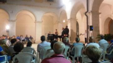 Video Clip- 7.8.2019- Manfredonia-Chiostro Municipio- Conclusione del concerto - Sulle ali della lirica-