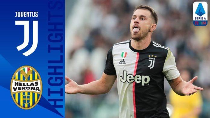 Juventus 2-1 Verona | Ramsey segna il primo goal per la Juve