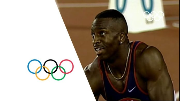 Michael Johnson Breaks 200m & 400m Olympic Records