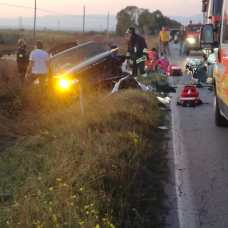 INCIDENTE SULLA SP141 ZAPPONETA MANFREDONIA (19.10.2019)