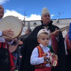 VISITA PRESIDENTE ALBANIA CASALVECCHIO DI PUGLIA (PH ENZO MAIZZI)