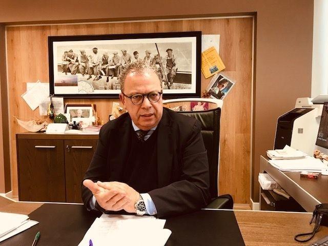 Il direttore generale della Asl Vito Piazzolla (ph Paola Lucino)
