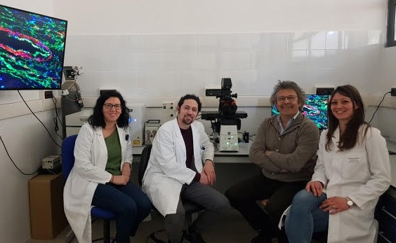 📷Nella foto da sx, Grazia Serino, Francesco Dituri, il direttore scientifico Gianluigi Giannelli e Serena Mancarella.