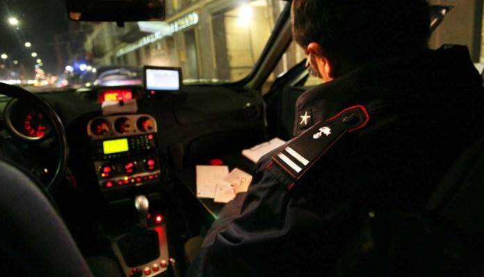 Controlli Carabinieri notte (ph Umbria Journal)