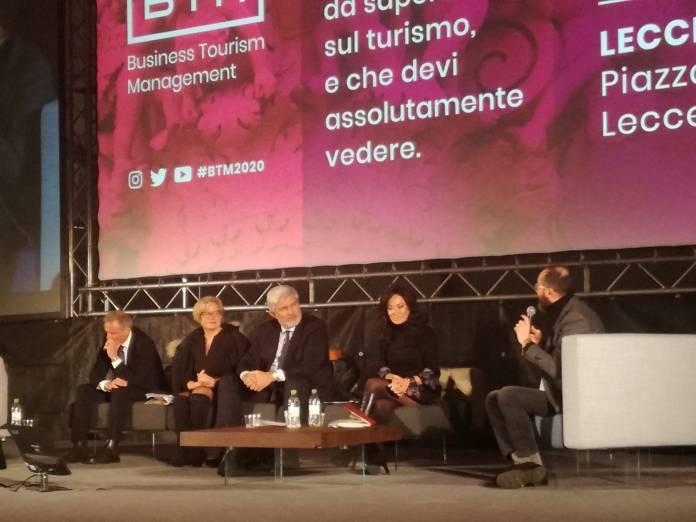 Intensa la prima giornata del BTM, 2020 Business Tourism Management, che ha aperto oggi la VI edizione della manifestazione internazionale, organizzata dall' agenzia 365 giorni in Puglia