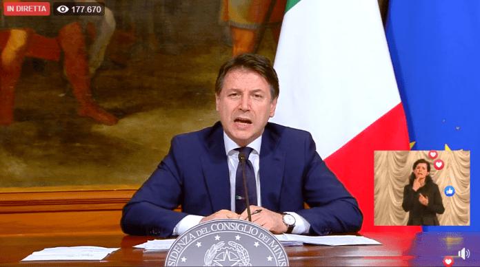 IL PREMIER CONTE (FRAME VIDEO)