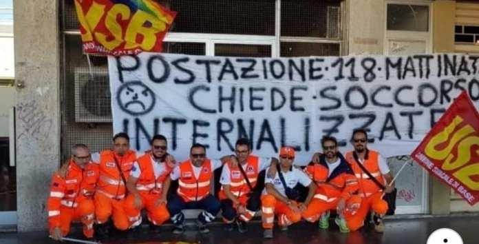 PROTESTA OPERATORI 118