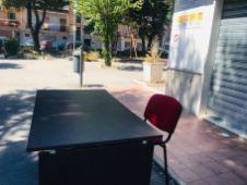 Scrivania al Parco S. Pio X