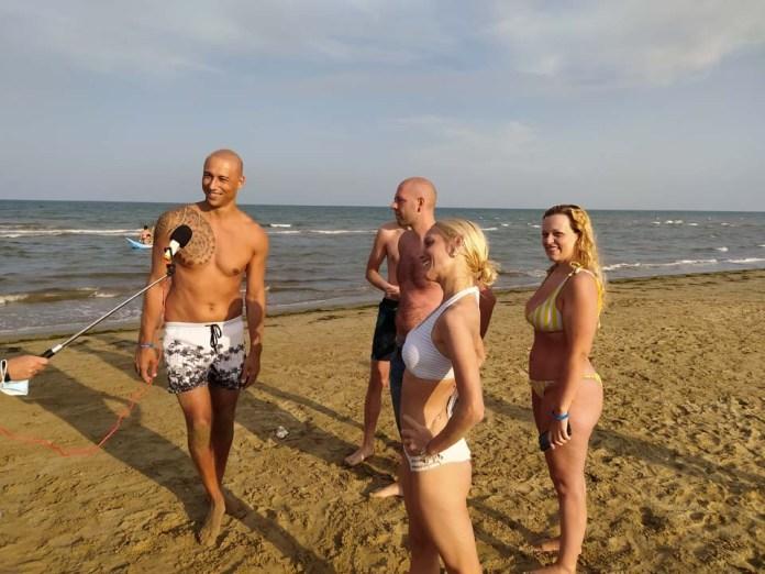 ESTATOUR, sulla lunga spiaggia di Siponto (video)