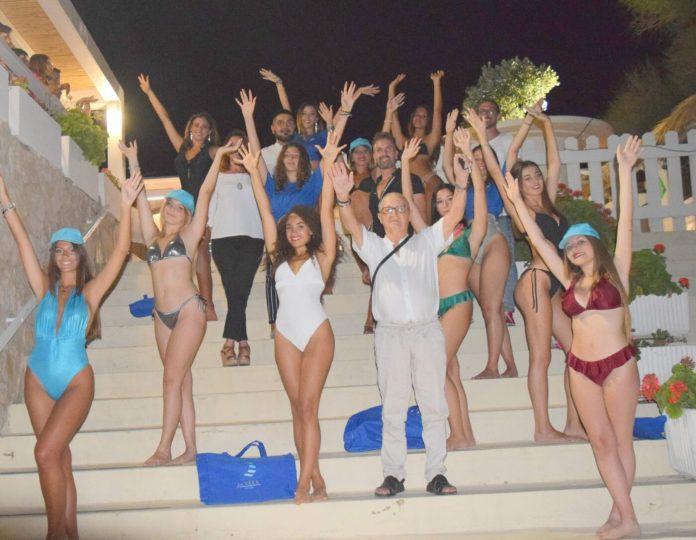 Miss Castellaneta Marina 2020 (il direttore artistico fra le aspiranti miss)