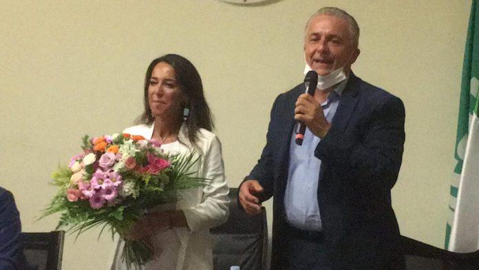 L'avvocato Giandiego Gatta, con la senatrice Licia Ronzulli (ph antonio troiano)