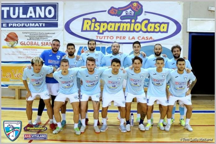 Michele Murgo, classe 98, prodotto del vivaio biancoceleste, dopo una parentesi con la Futsal Donia passa al Manfredonia C5 militando prima nell'under 19 per poi mettersi subito in mostra nel campionato di serie B, dove al primo anno realizza già oltre 20 reti.