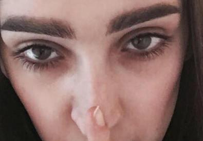 Intervista all'ANSA del fotografo. La modella armena sfila per Gucci e diventa vittima sui social di body shaming