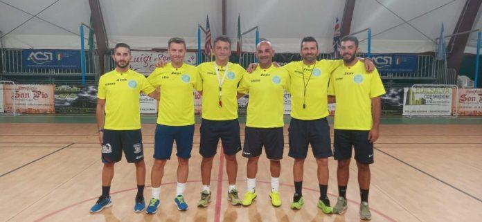 """Manfredonia, 10 settembre 2020.Lunedi 7 Settembre presso gli impianti sportivi """"Palatomaiuolo"""" si è aperta ufficialmente la stagione sportiva 2020/2021 della scuola calcio."""