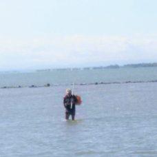 Il pescatore Pietro Triennese detto -Sckàrdine-