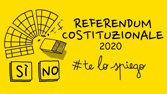 REFERENDUM COSTITUZIONALE 2020 SUL TAGLIO DEI PARLAMENTARI
