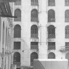 1955 vista al cortile interno