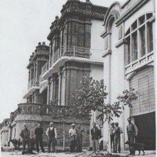 Fine anni '30-Costruttori e operai di Villa Rosa