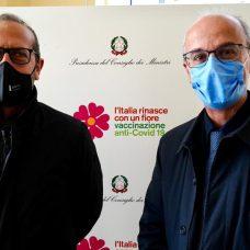 Antonio Sanguedolce e Pierluigi Lopalco