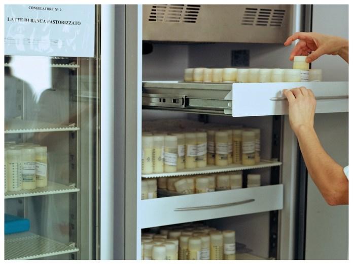 3-Frigorifero per la conservazione dei campioni di latte donato