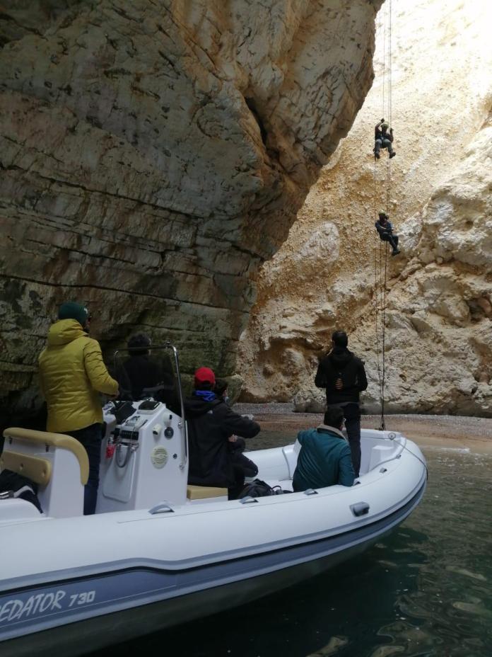 Su Rai 2 le grotte marine del Gargano come non le avete mai viste: