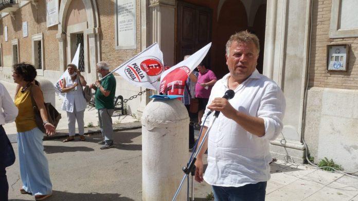 Tutolo annuncia l'occupazione della Statale 16 per protesta (FOTO - VIDEO)
