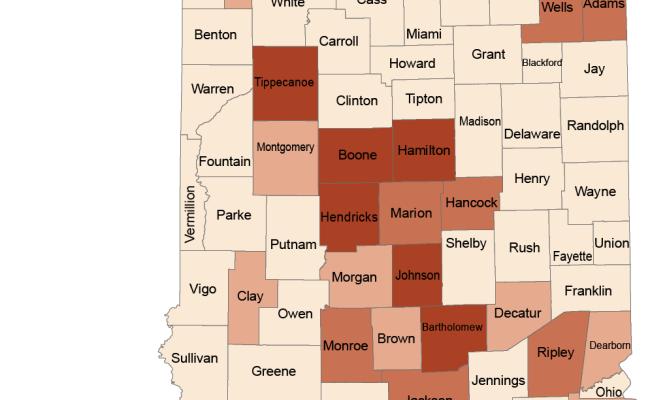 Indiana County Population Estimates