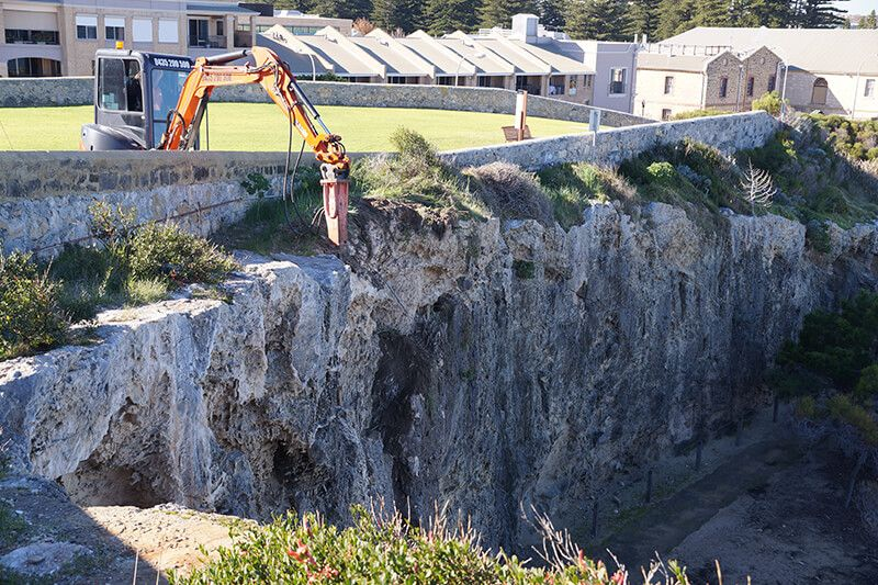 Earthwork Supervision - Geohazard risk mitigation supervision