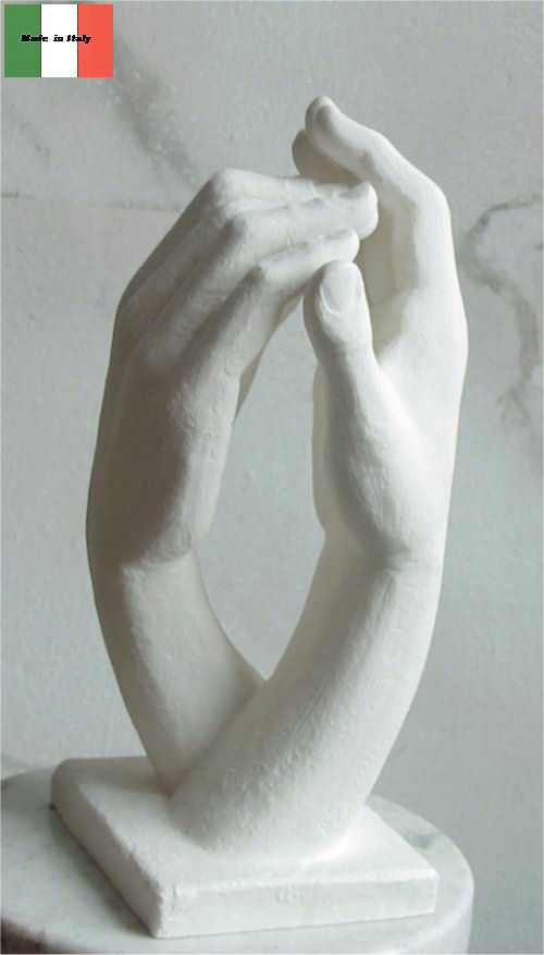 Cathedral Hands By Auguste Rodin Statue
