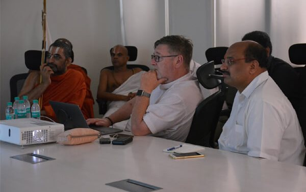Discussion on Lighting for Bhadravedi – Moves into Action from Paper
