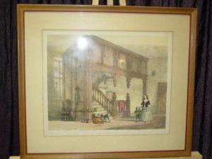 antique-frame-print-staircase-aa101-1