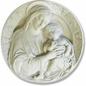 reliefs-for-sale-mary-and-child-round-rel1014-1