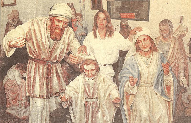 RELIGIOUS FIGURES GET NEW LOOK