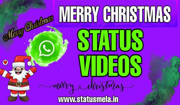 merry christmas whatsapp status download