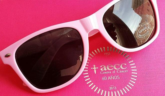 Colabora con la Asociación Española Contra el Cáncer con estas bonitas gafas de sol.